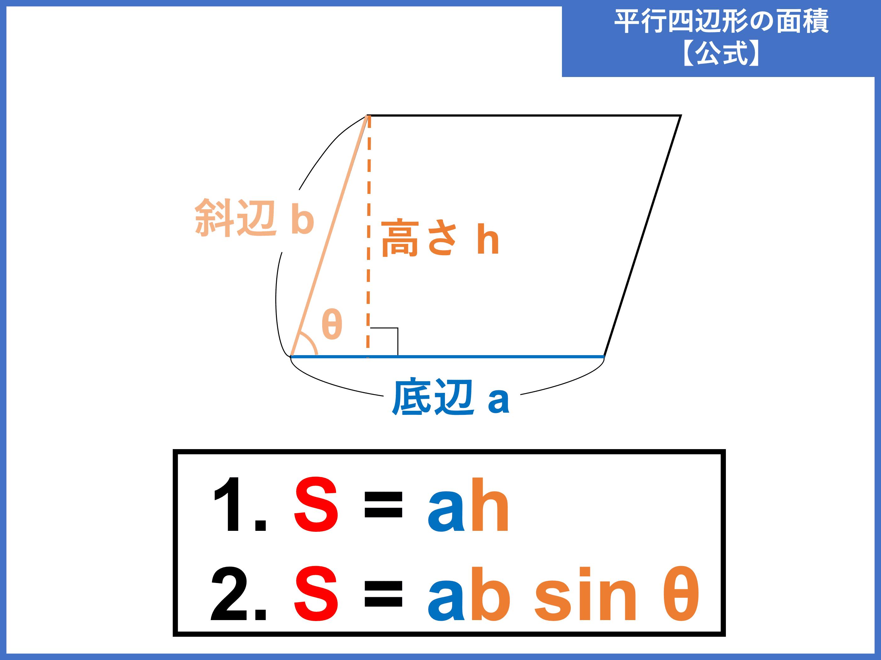 平行 四辺 形 の 面積
