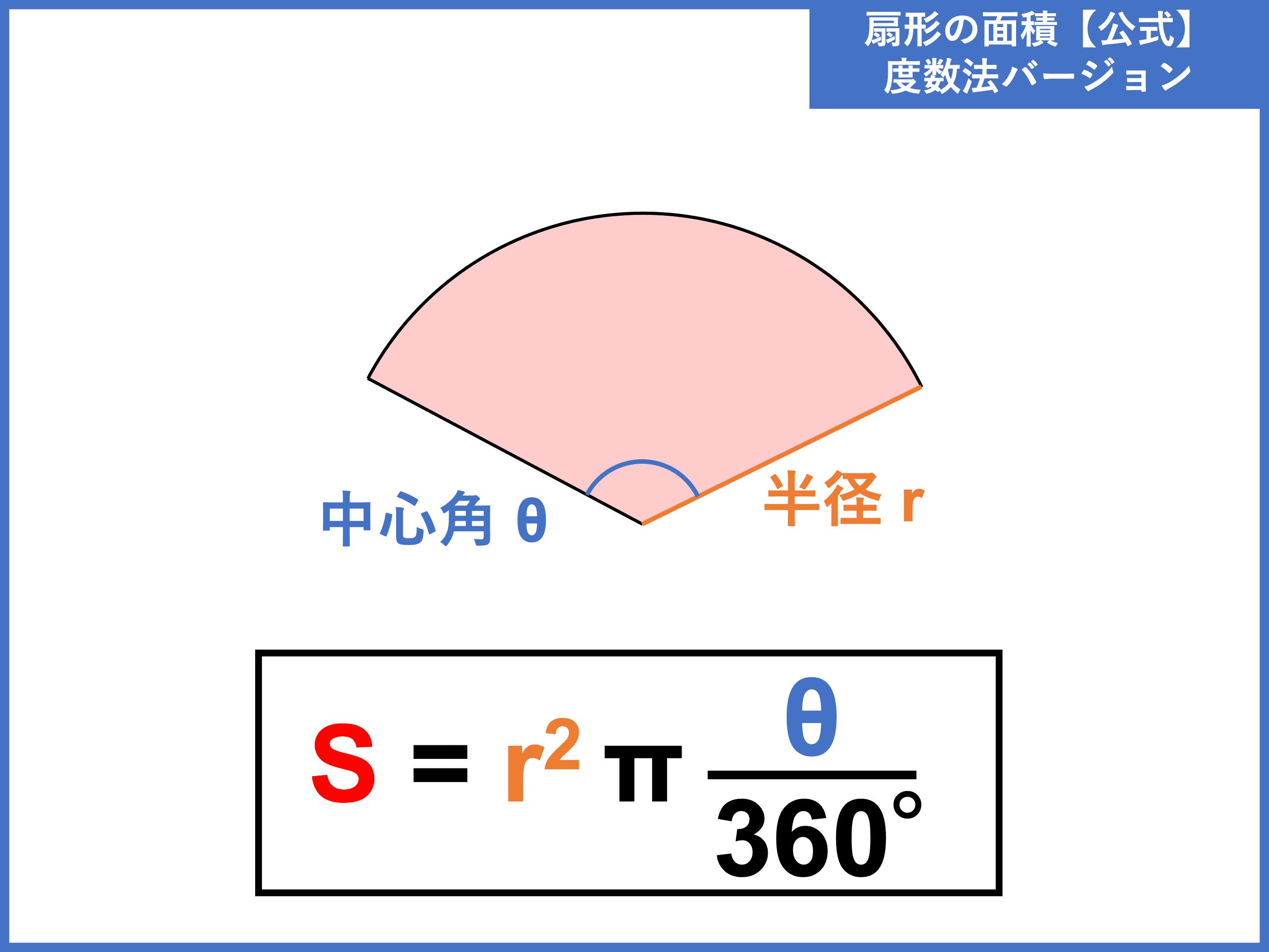 弧 の 長 さ の 求め 方 扇形とは?面積・中心角・半径・弧の長さの公式と求め方
