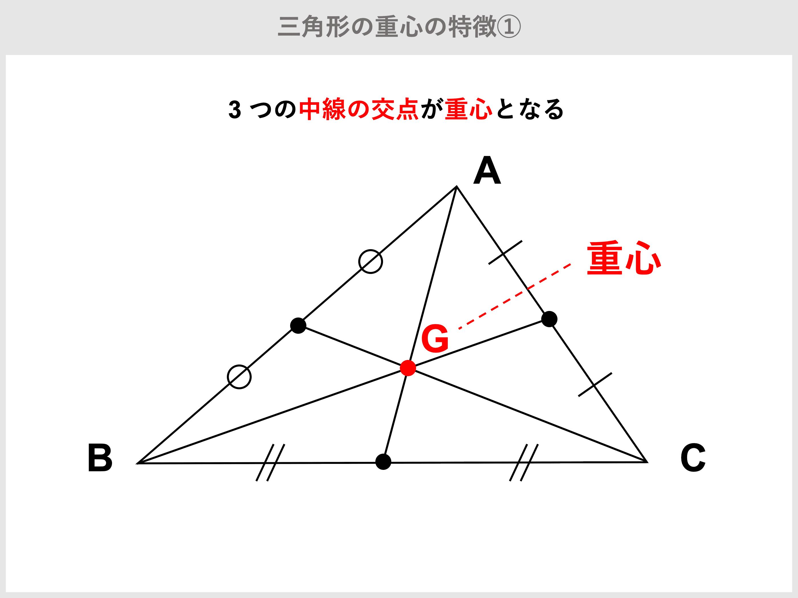 三角形とは?面積公式、角度・辺の長さ・重心・比の計算   受験辞典