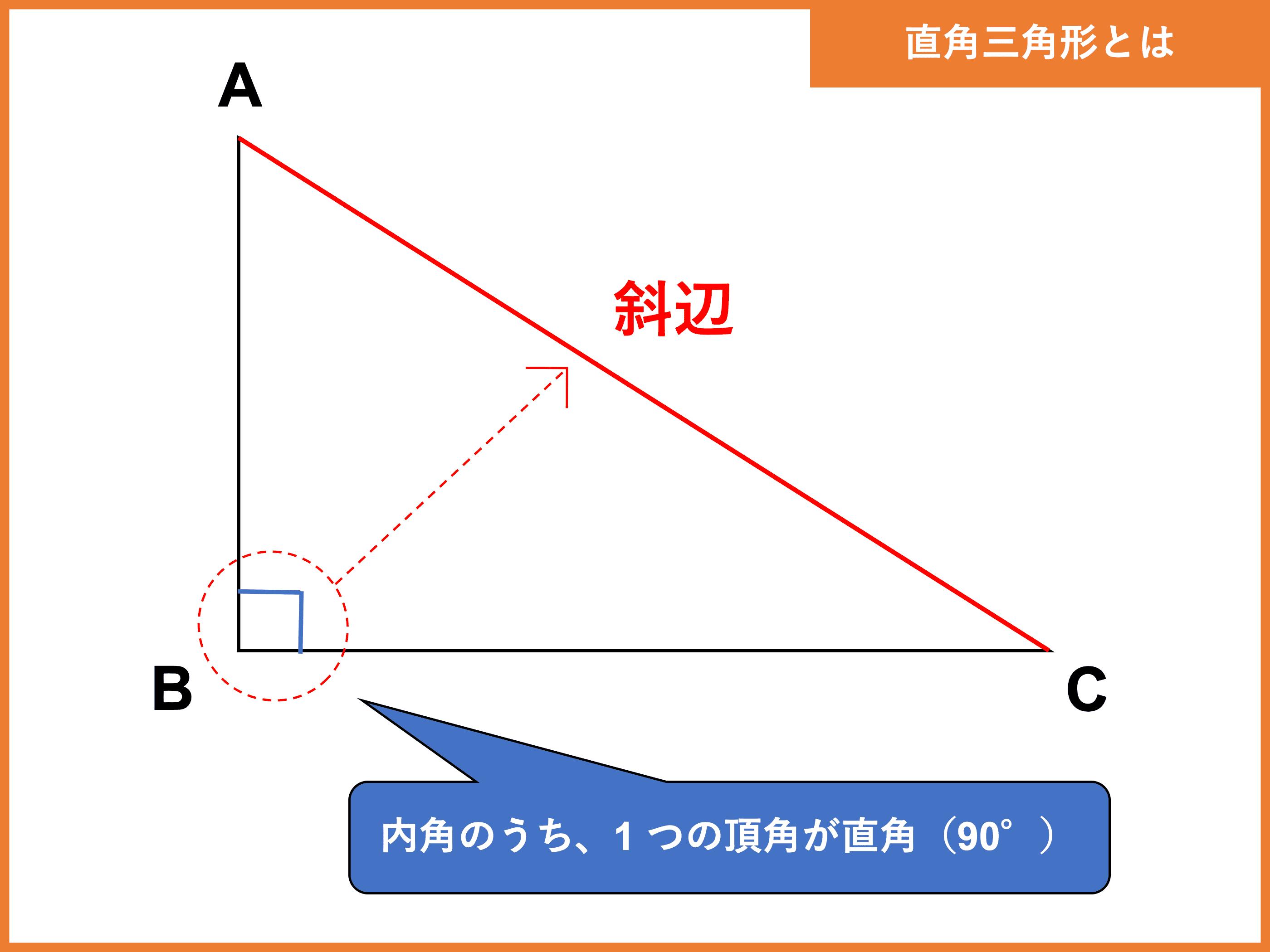 直角 三角形 の 辺 の 比